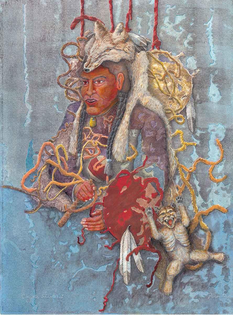 Coyote Shaman by  Jack Pachuta - Masterpiece Online