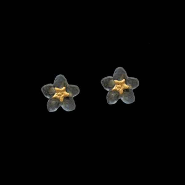Forget Me Not Flower Stud Earrings