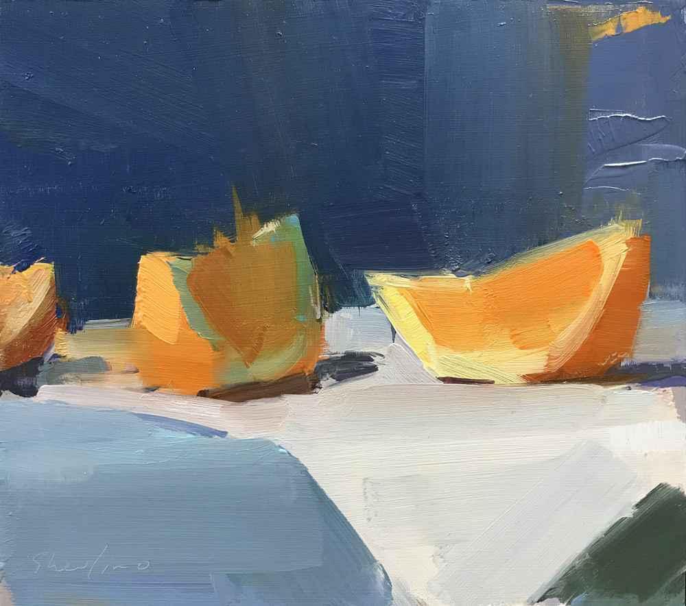 Orange Wedges by  David Shevlino - Masterpiece Online