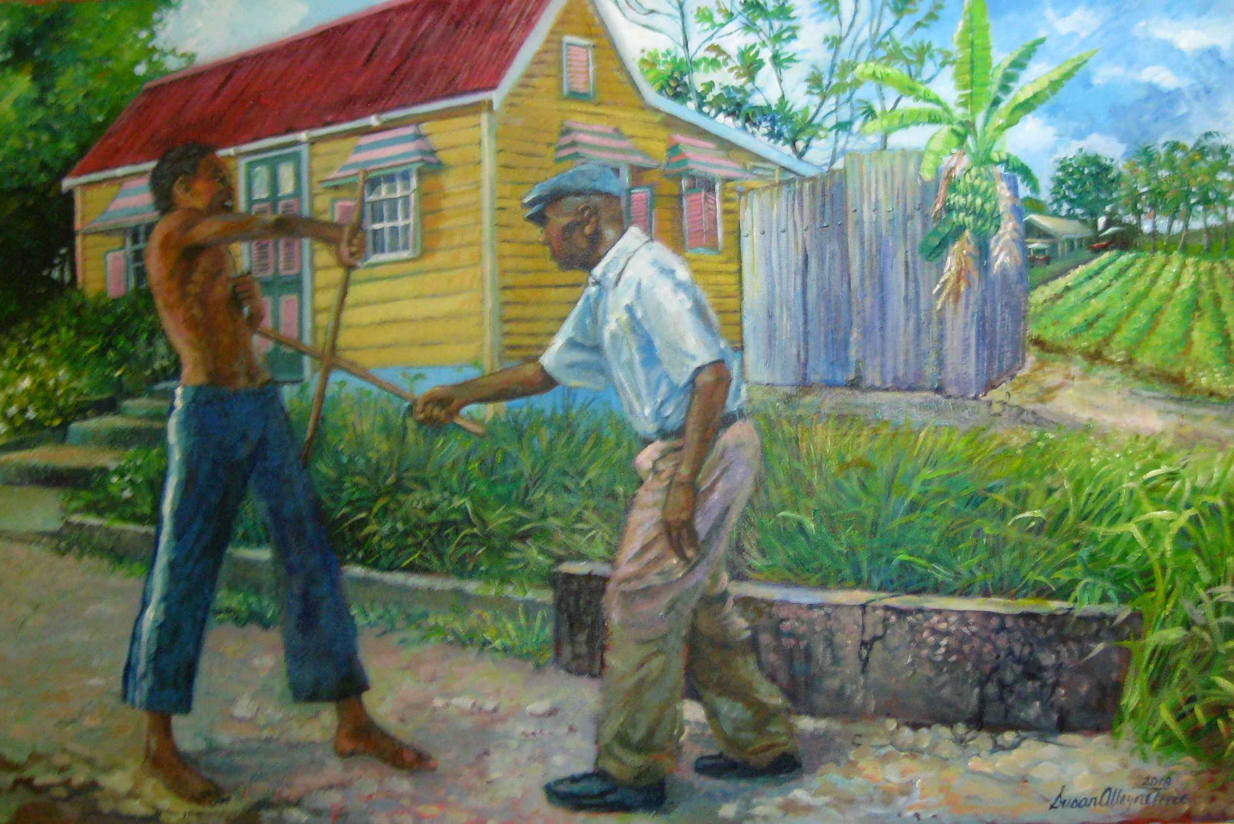 Throw a Lash by Mrs. Susan Alleyne Forde - Masterpiece Online