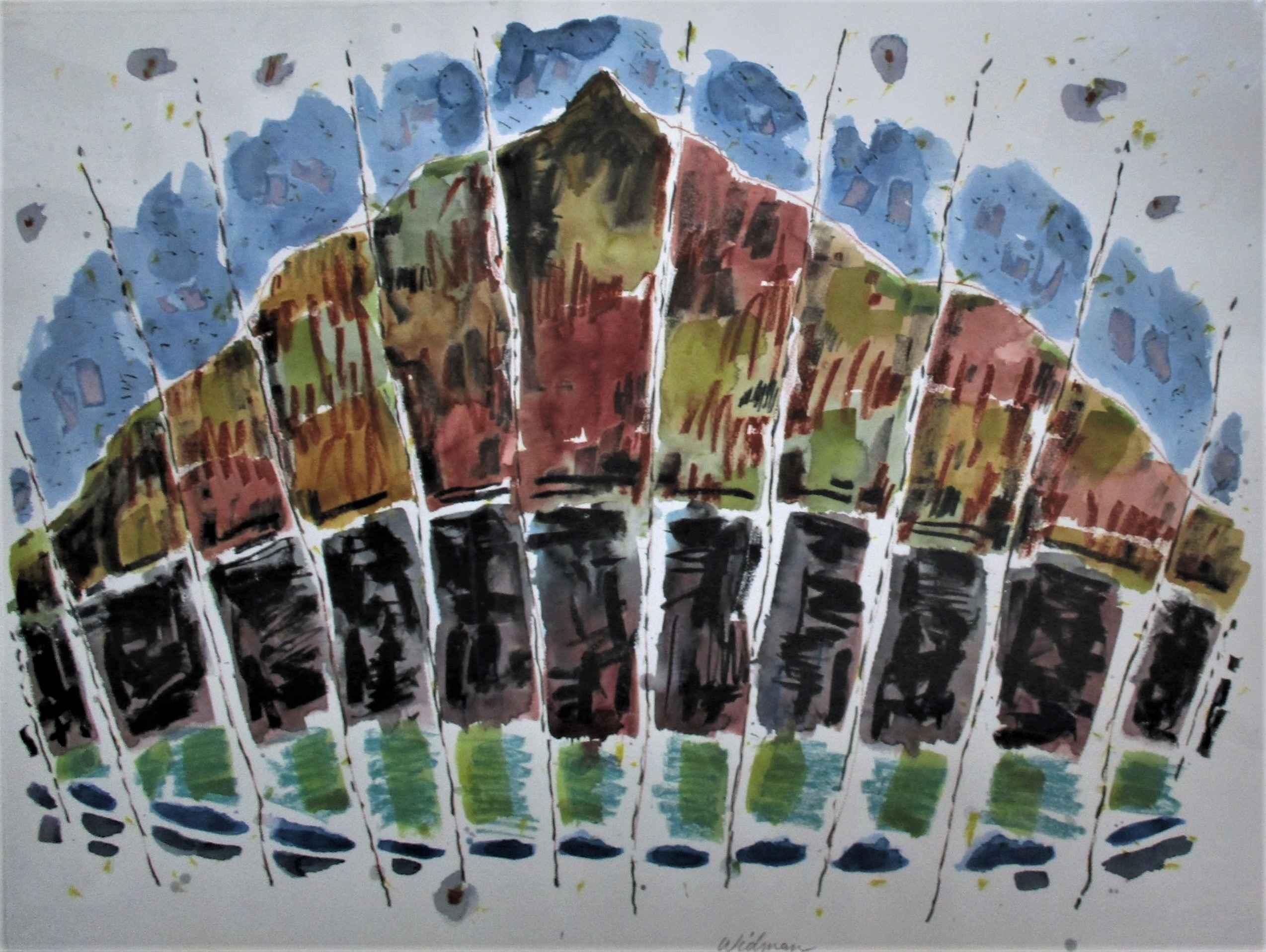 Untitled (mountain) by  Harry Widman - Masterpiece Online