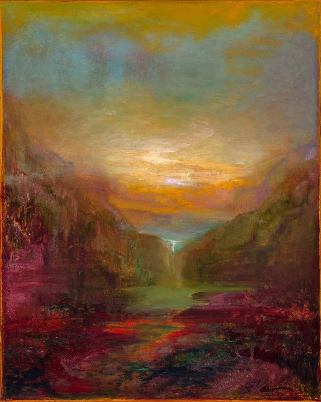 Dawn Awakening by  Patricia Kaufman - Masterpiece Online
