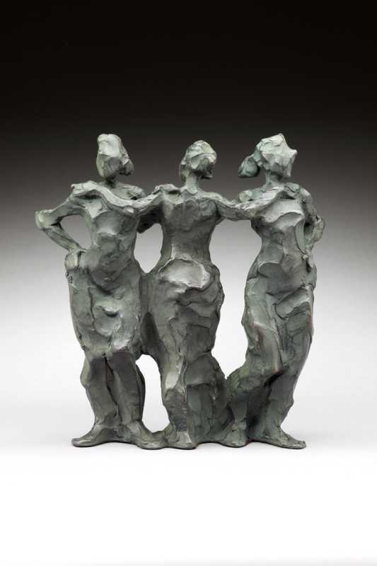 Three Graces (small) ... by Ms. Jane DeDecker - Masterpiece Online