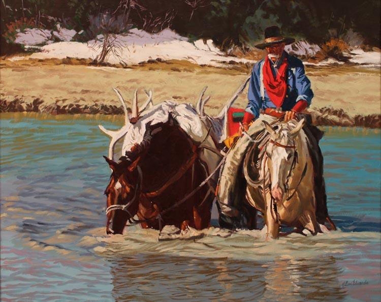 SOLD- Pilgrim Creek by  Glen Edwards - Masterpiece Online