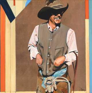 Corona New Mexico Cow... by  David DeVary - Masterpiece Online