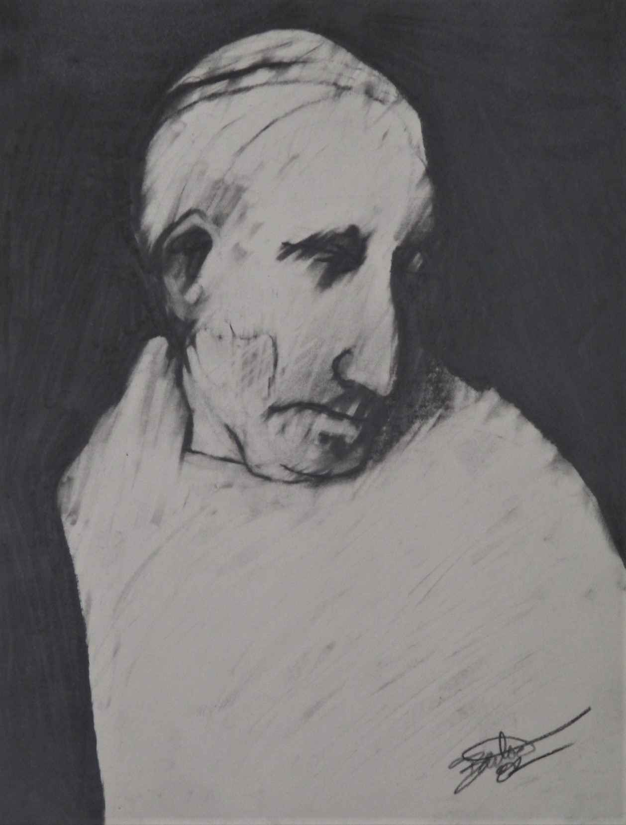 Untitled ( Man's Head) by  Rick Bartow - Masterpiece Online