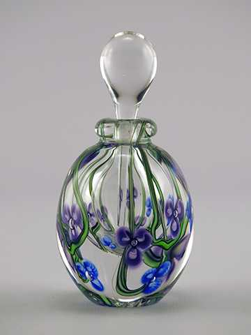 Perfume/Purple & Blue... by  Roger Gandelman - Masterpiece Online