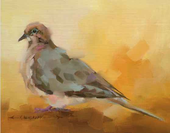 Morning Dove  by  Kathryn Ashcroft