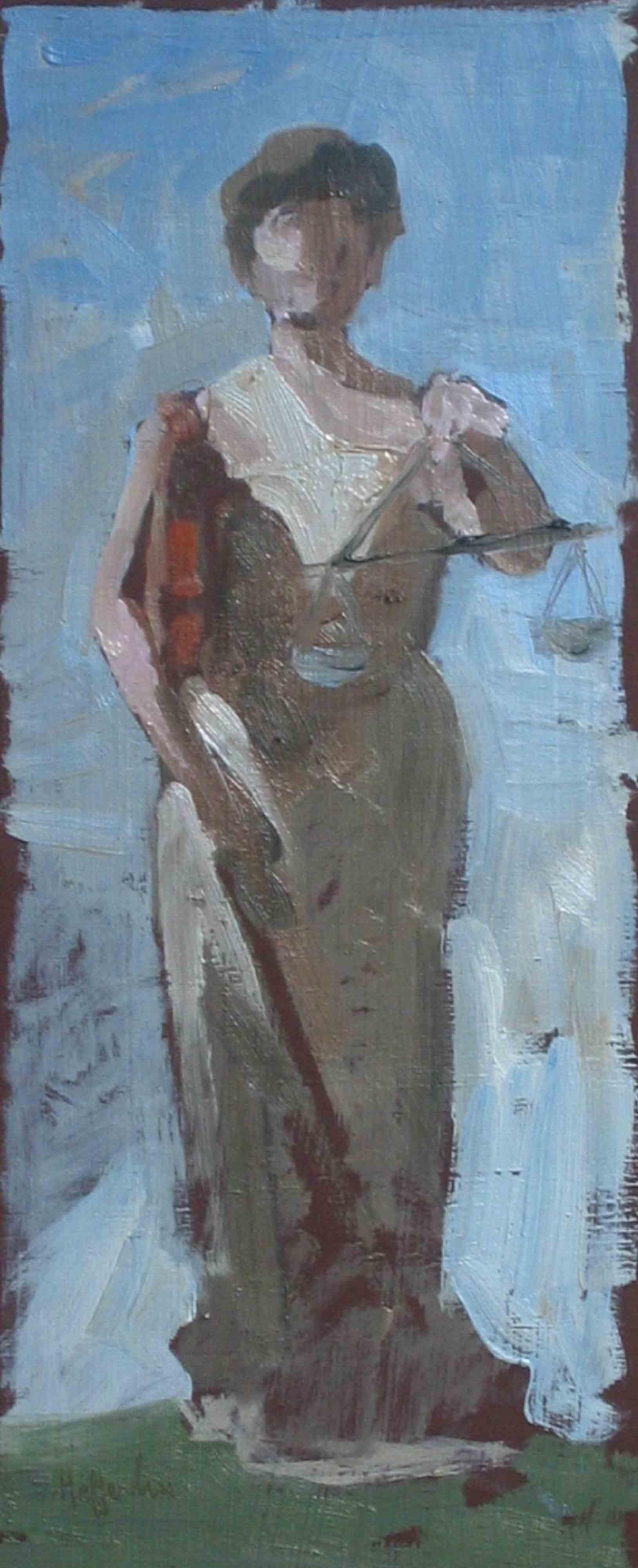 Study For Justice, St... by  Melissa Hefferlin - Masterpiece Online