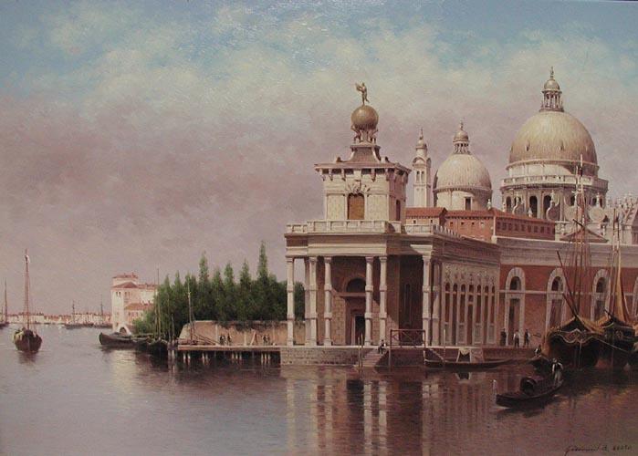 Santa Maria Della Sal... by  Vasily Gribennikov - Masterpiece Online