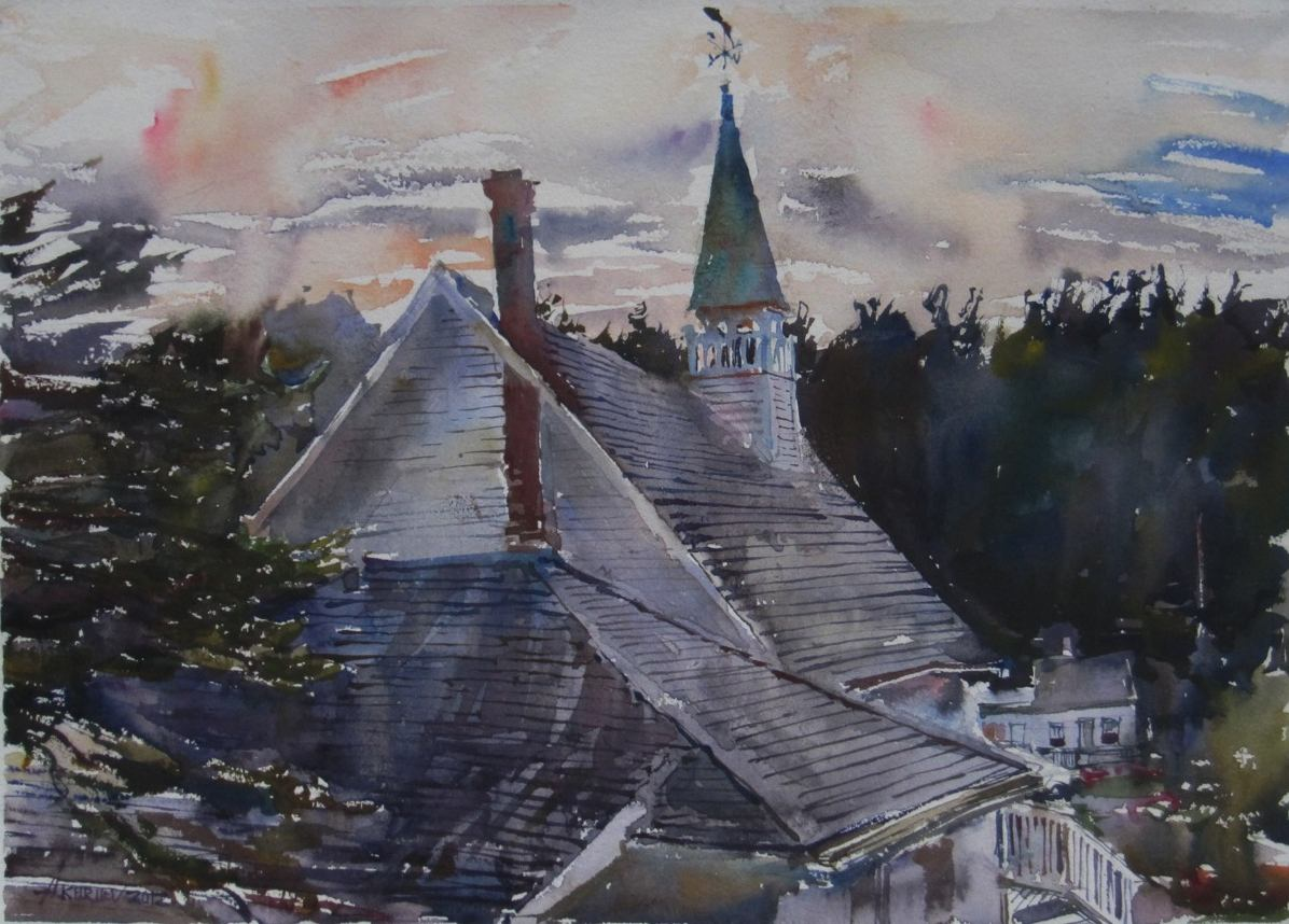 Island Bell Tower by  Daud Akhriev - Masterpiece Online