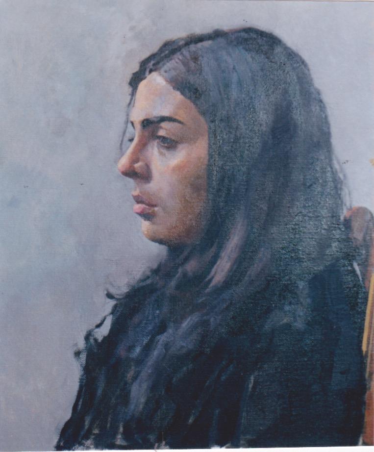 Sonia by  Daud Akhriev - Masterpiece Online