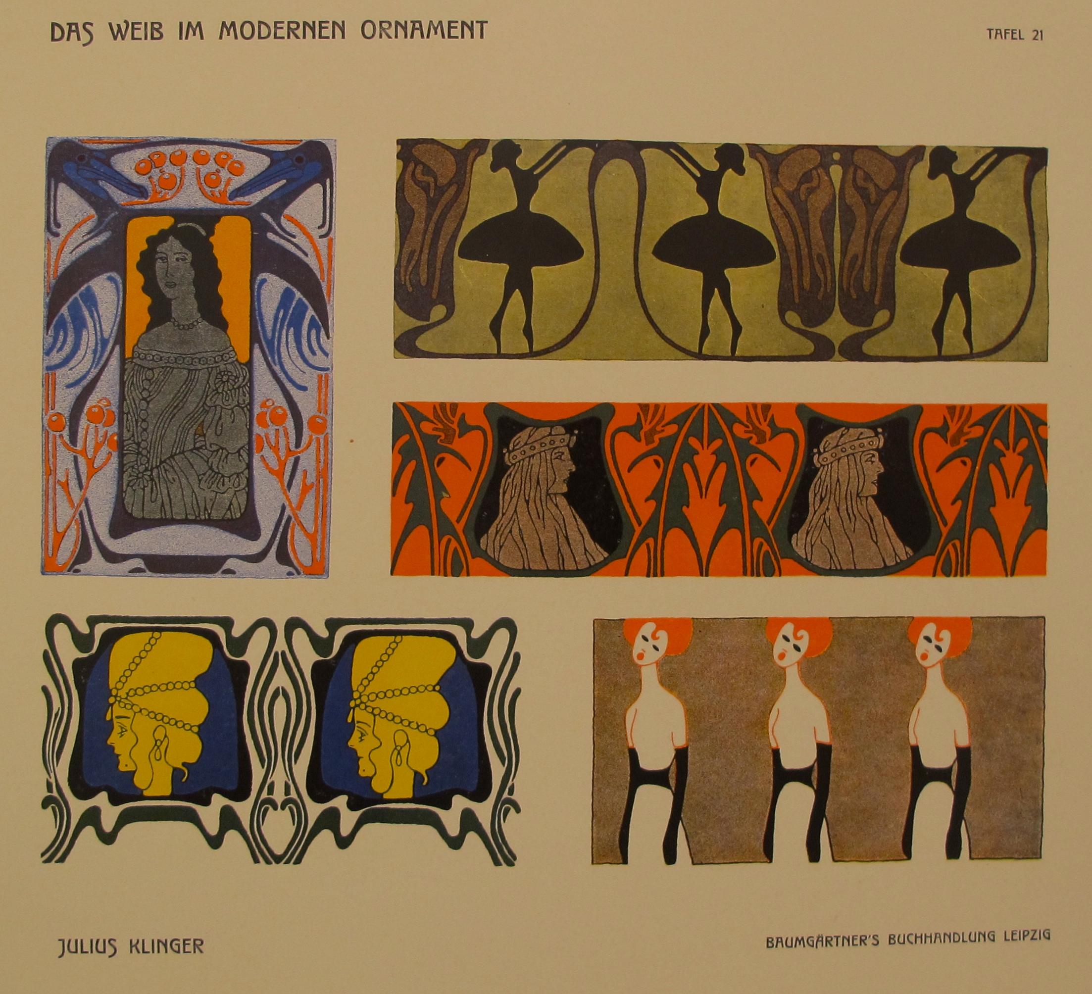 Plate 21/Tafel 21 Das... by  Julius Klinger - Masterpiece Online