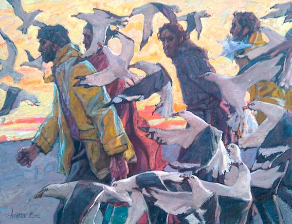 Essaouira Promenade 4 by  Daud Akhriev - Masterpiece Online
