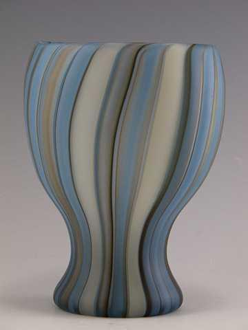 Urn/Blue Powder Cane ... by  Clayton Hufford - Masterpiece Online