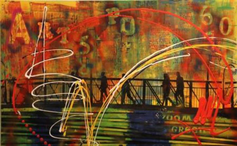 Art Pop Ville by Mme Monica GRANGIER - Masterpiece Online
