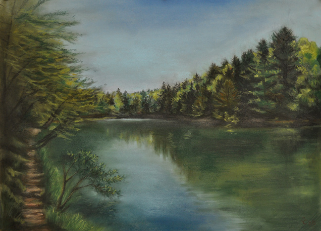 Late Spring, Seneca S... by  Cindy Cave - Masterpiece Online