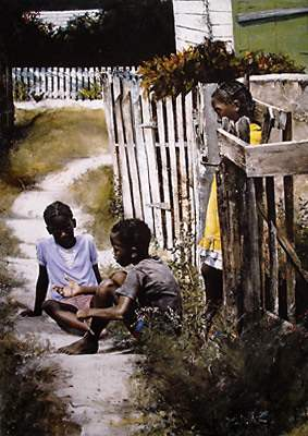 Telling a Story by  Stephen Scott Young - Masterpiece Online