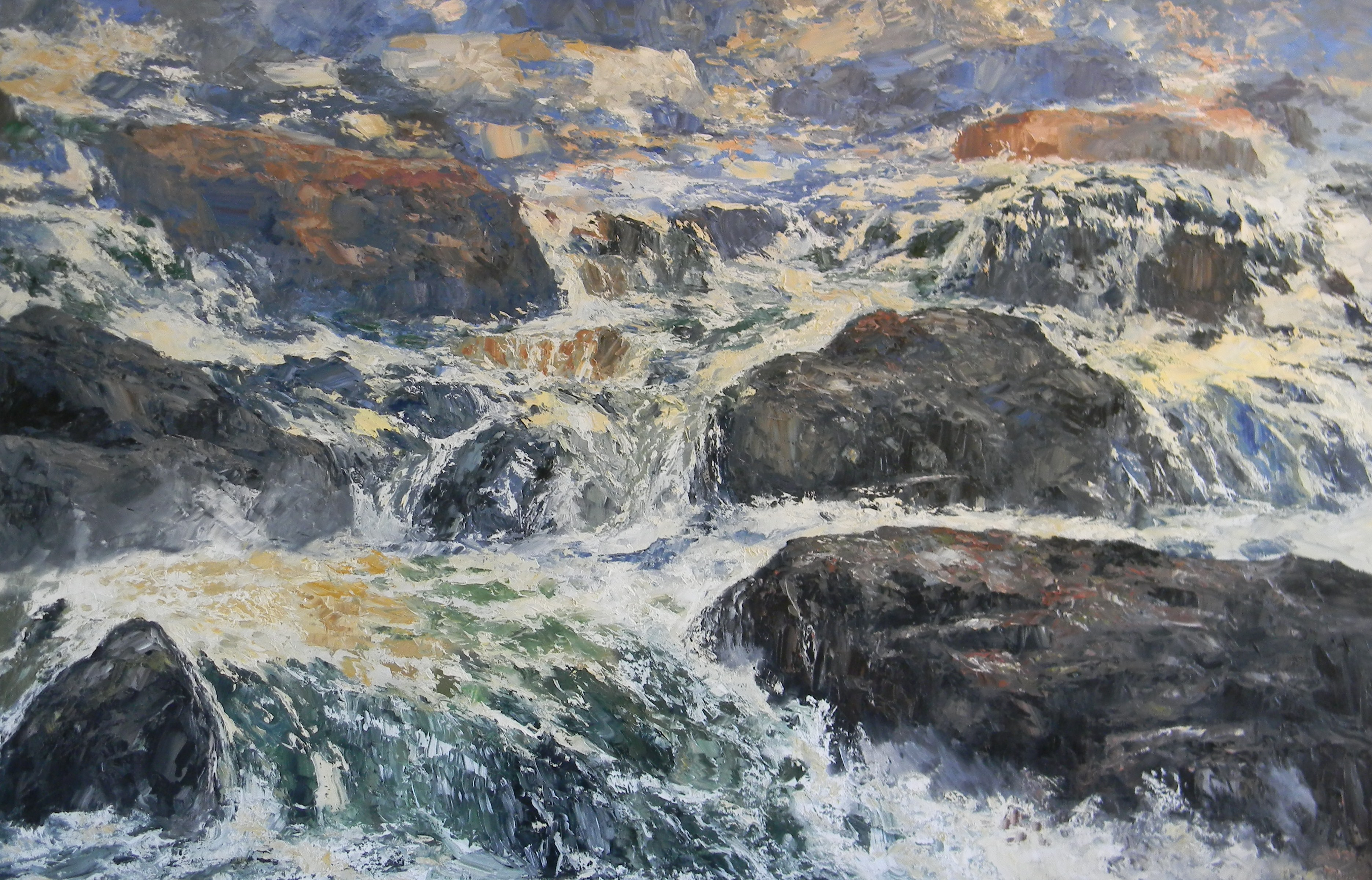White Water by  James Cook - Masterpiece Online