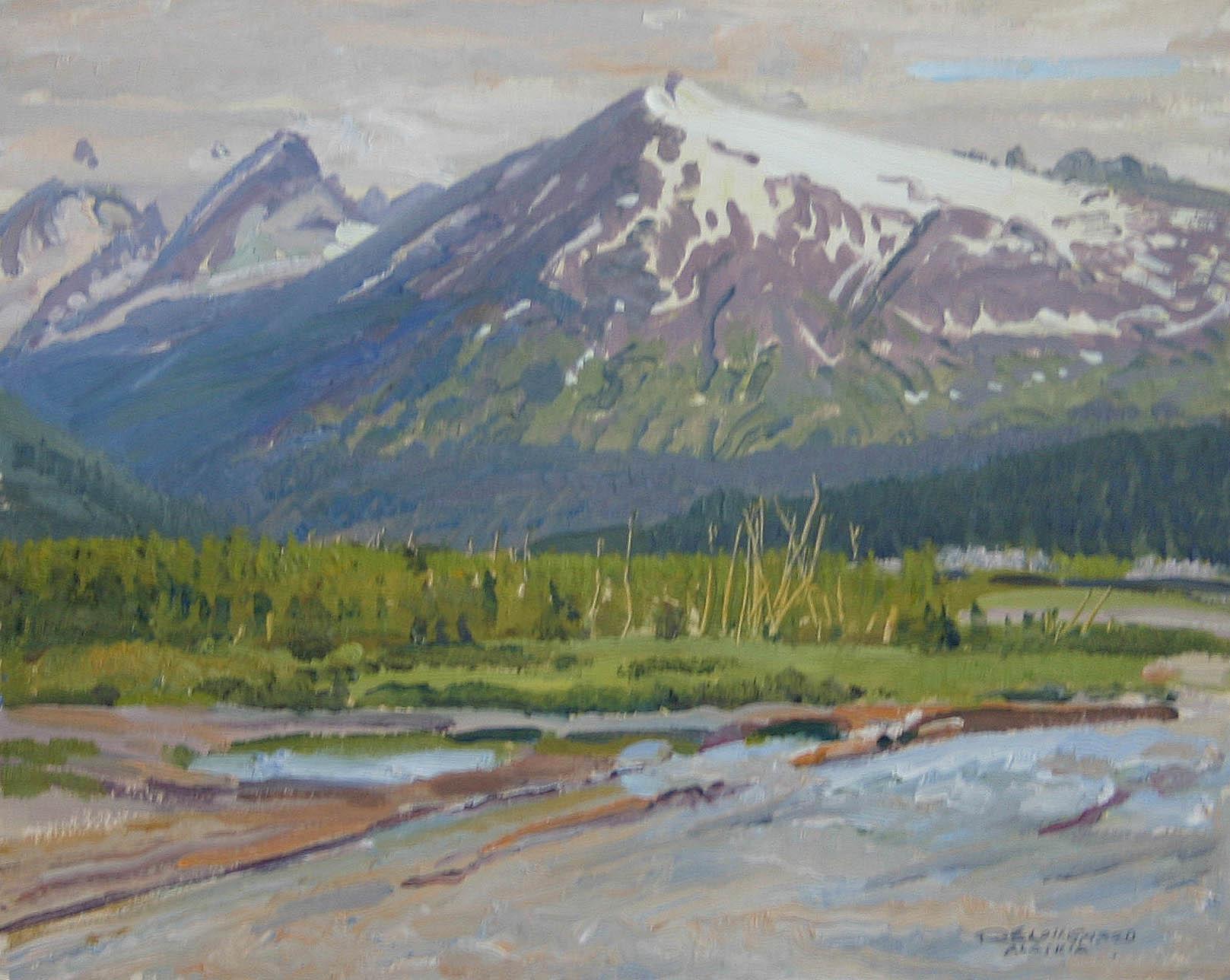 Kenai Peninsula - Sno... by  Robert Lougheed - Masterpiece Online