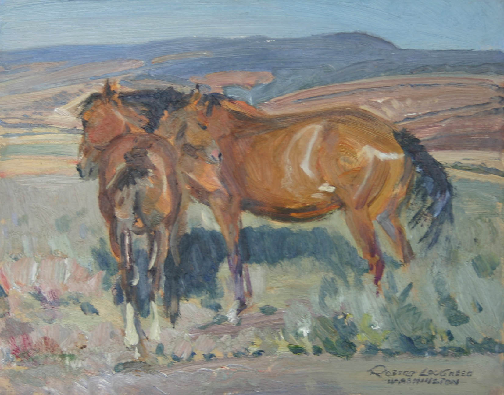 Bill Spencer - Washin... by  Robert Lougheed - Masterpiece Online