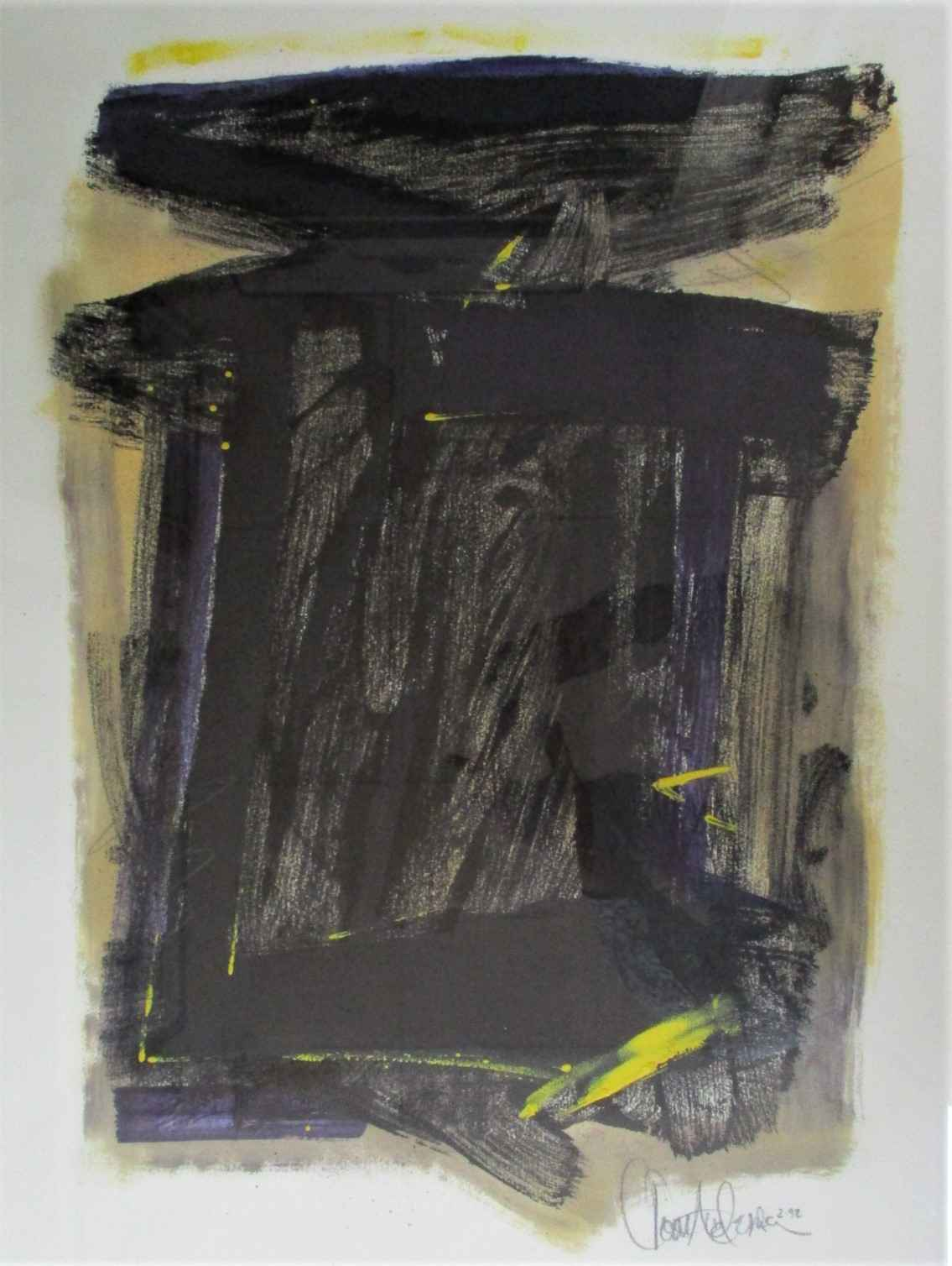 Untitled ( monotype #... by  Tom Anderson - Masterpiece Online