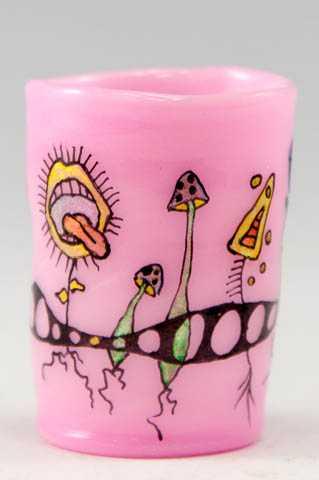 Shot Glass/Pink by  Bronwen Heilman - Masterpiece Online