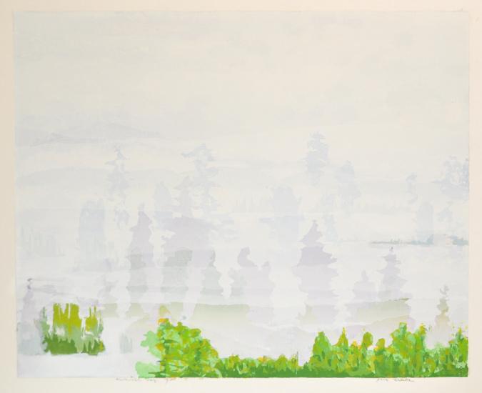 Summer Fog  by  Jane Kraike (1910-1991)