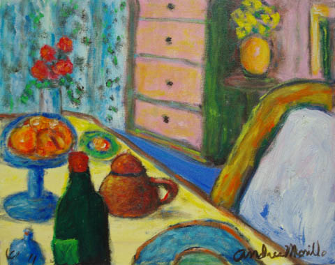 Light on the Table by  Andres  Morillo - Masterpiece Online