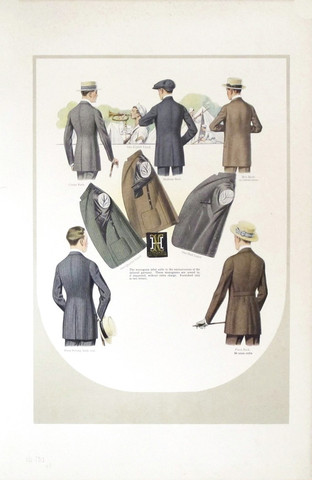 1918 Men's Fashion Pl... by  Anonymous  - Masterpiece Online