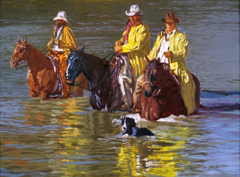 SOLD- In the Reflect... by  Glen Edwards - Masterpiece Online