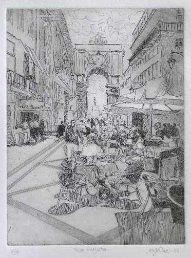 Rua Augusta  by  Joseph Cave