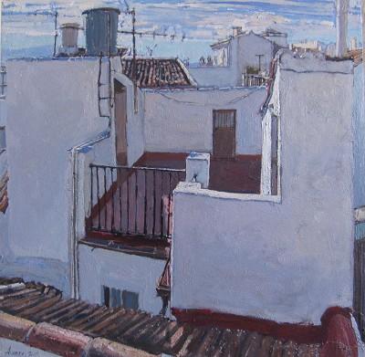 Pueblos Blancos, II by  Daud Akhriev - Masterpiece Online
