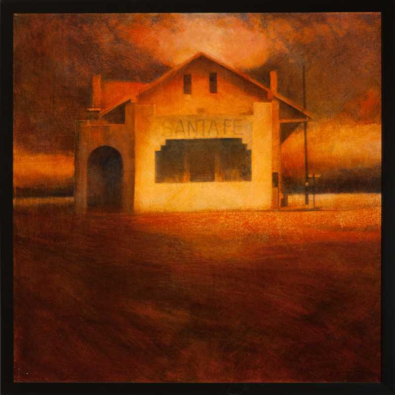 Santa Fe Depot by  Charlie Hunter - Masterpiece Online