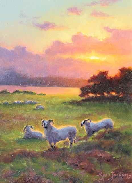 Sunset Stillness by  Sally  Jordan - Masterpiece Online