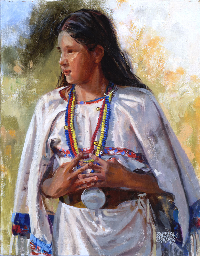 Bells And Beads by  Barbara Summers Edwards - Masterpiece Online