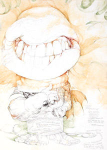Ice Cream Patriolitic... by  David Christiana - Masterpiece Online