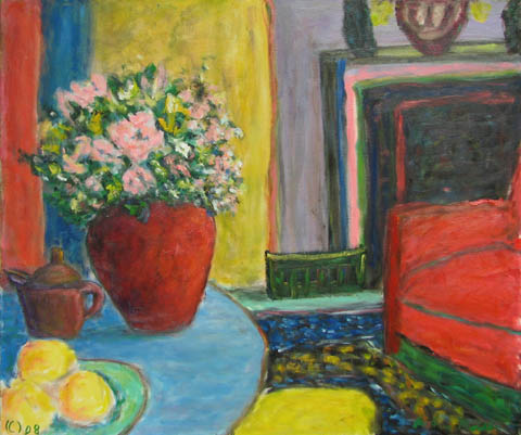 Blue Table by  Andres  Morillo - Masterpiece Online