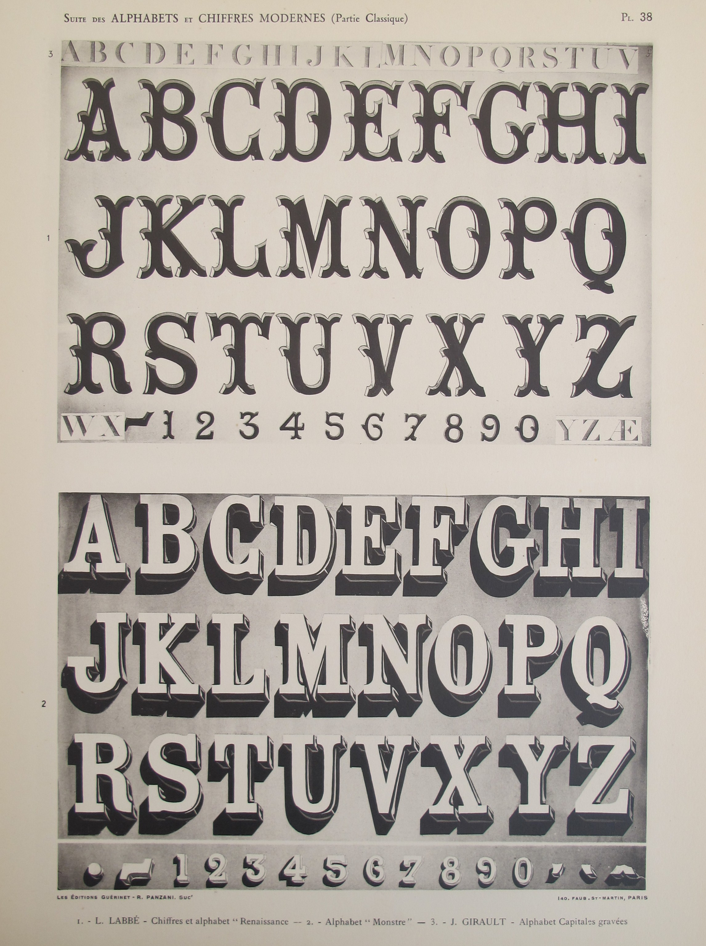 Typography - Vignette... by  Labbe and Girault  - Masterpiece Online