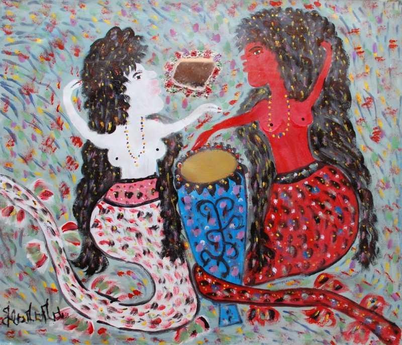 Sirenes marassa by  Gerard FORTUNE - Masterpiece Online