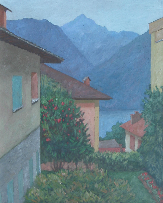 Dawn in Minusio by  Melissa Hefferlin - Masterpiece Online