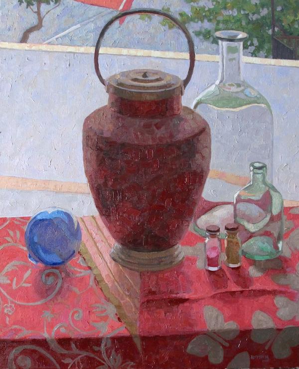 In the Window by  Melissa Hefferlin - Masterpiece Online