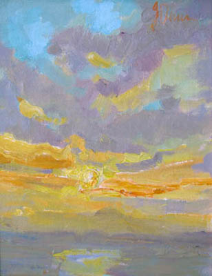 Sunset by  Lindy  Duncan - Masterpiece Online