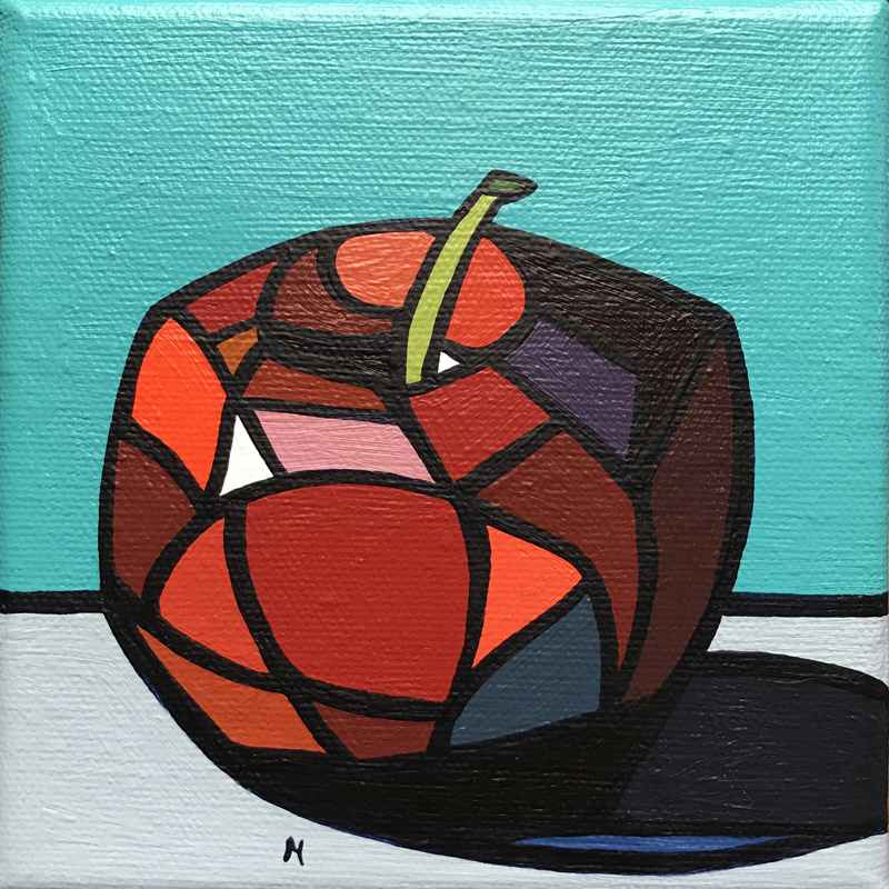 Red Apple by  Marci Erspamer - Masterpiece Online