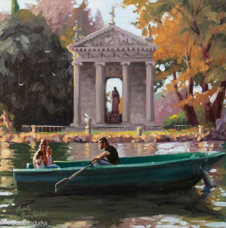 Viale del Lago  by  Angela Bandurka