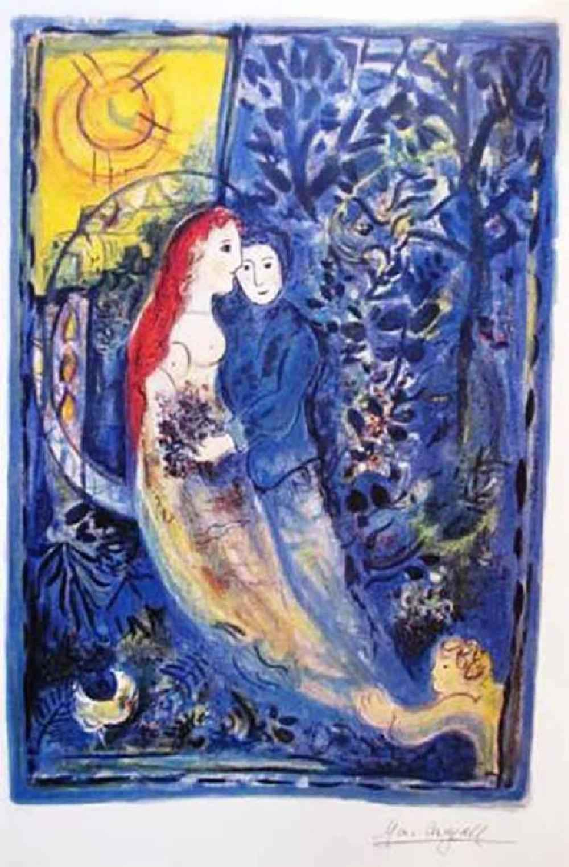 Wedding by  Marc Chagall - Masterpiece Online