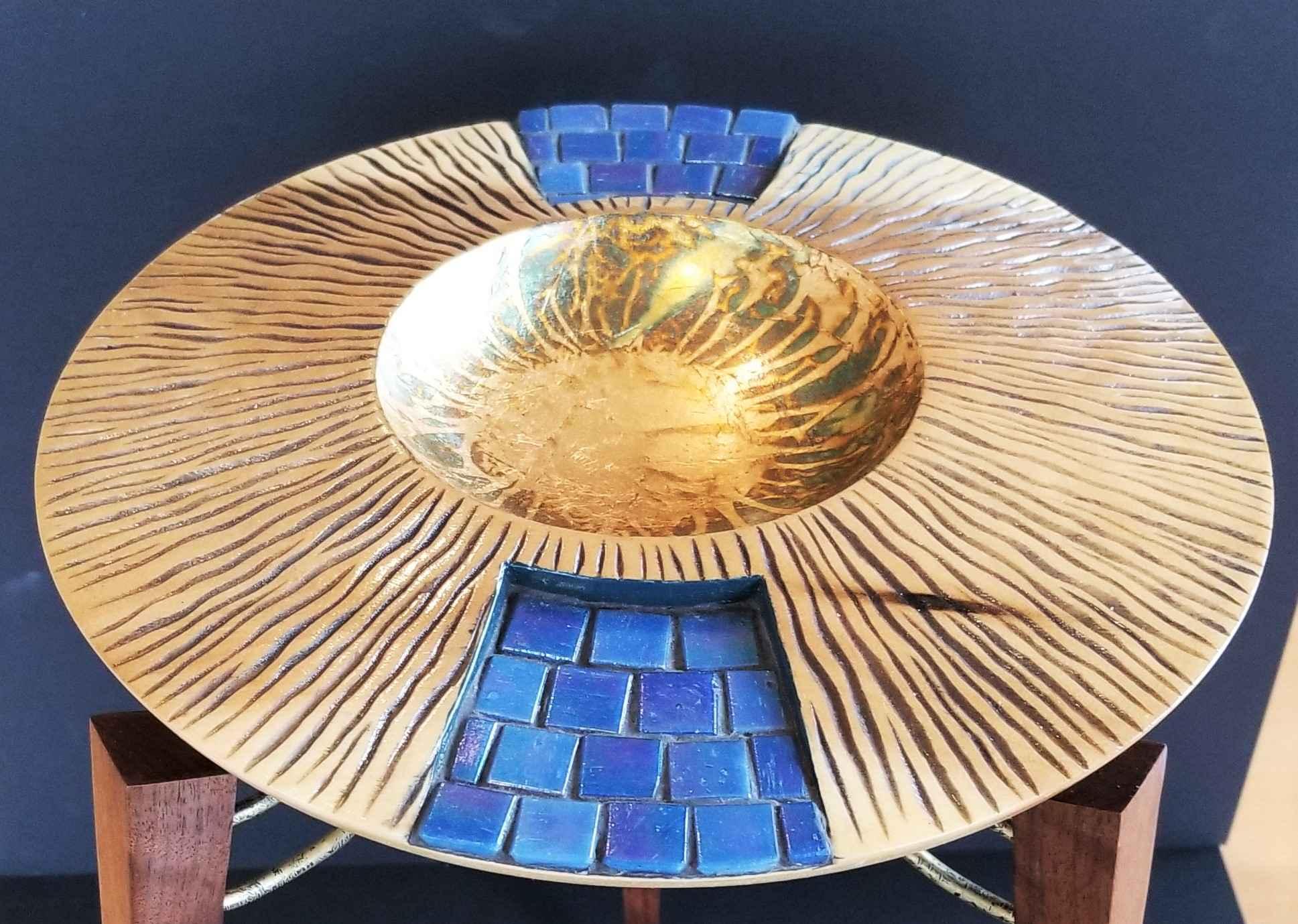 Apogee Poplar Bowl wi... by  Ronald Zdroik - Masterpiece Online