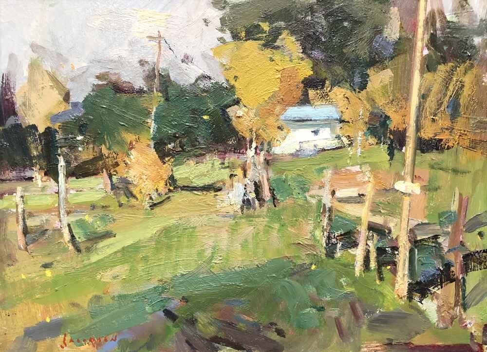 Powell Butte Homestead by  Eric Jacobsen - Masterpiece Online