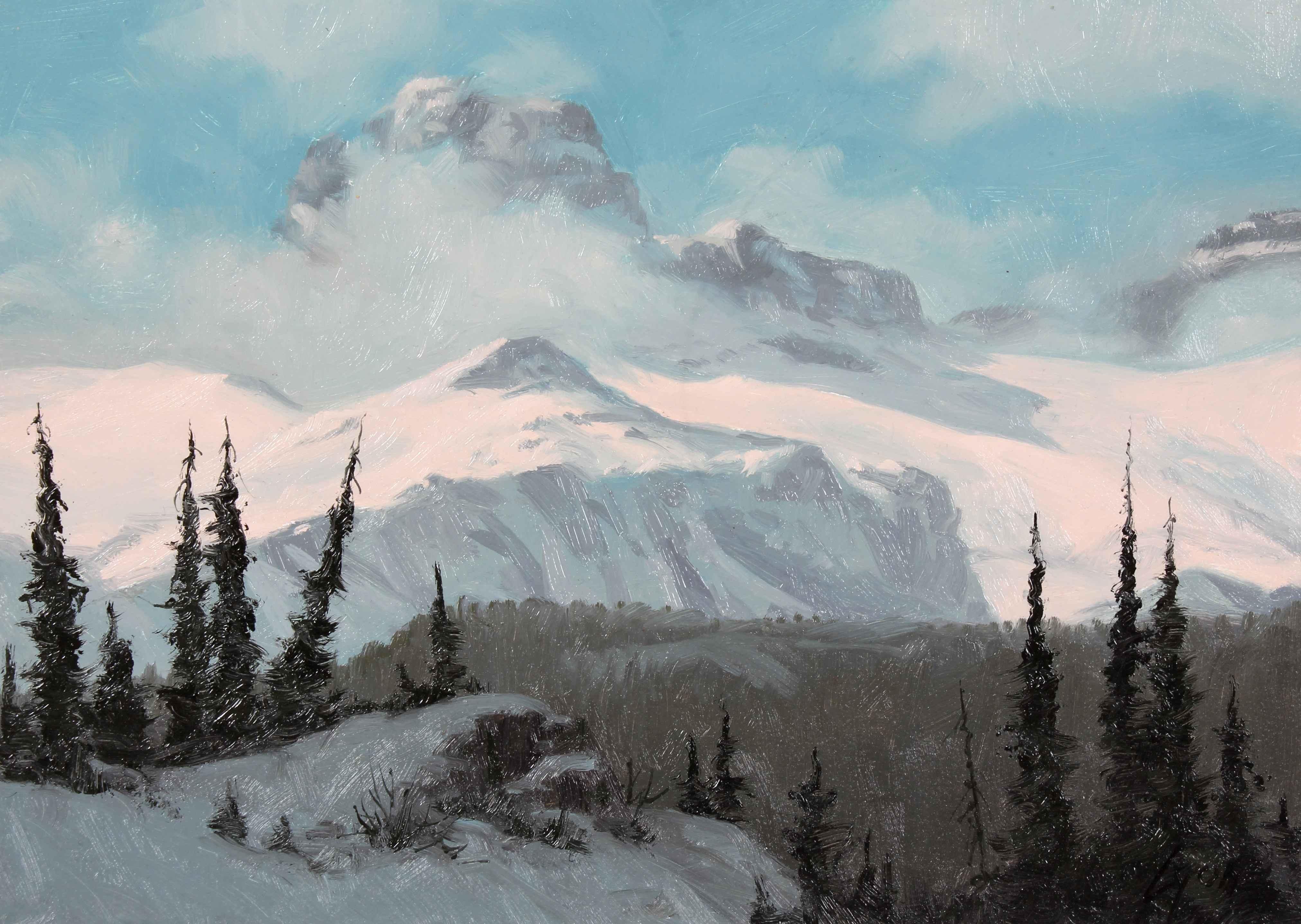 Snow Wind  by  Harold Lyon