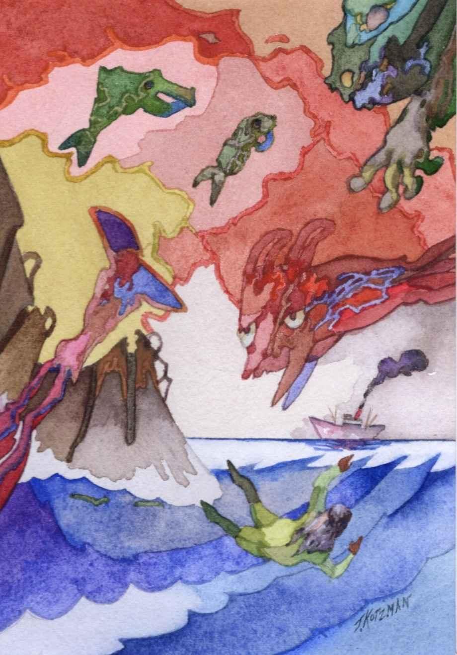 Missed The Boat by  Joe Kotzman - Masterpiece Online